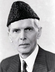 Mohammad Ali Jinnah, also known as Quaid-e-Azam (Great Leader), founder of Pakistan and a Shia Muslim.